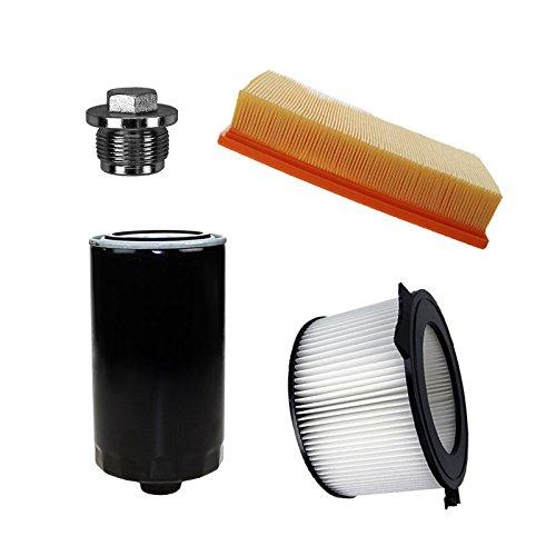 1x /Ölfilter 1x /Ölablass-Schraube 1x Dichtring /Ölablass-Schraube Pollenfilter Inspektionspaket SET A 1x Luftfilter 1x Innenraumfilter