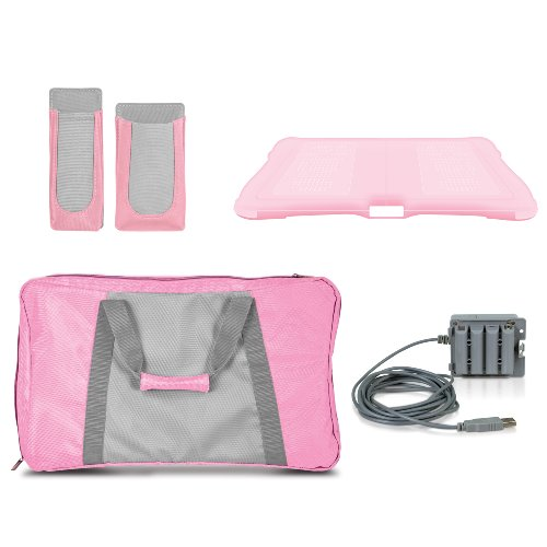 4-In-1 Lady Fitness 4 Fit Workout Kit - Nintendo Wii (Wii Kit Workout)