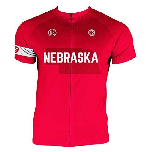 Hill Killer Nebraska Men's Cycling Jersey (X-Large) ()