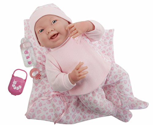 JC Toys 18780 La Newborn Soft Body Boutique Baby Doll, 15.5-Inch, (Online Boutiques For Babies)