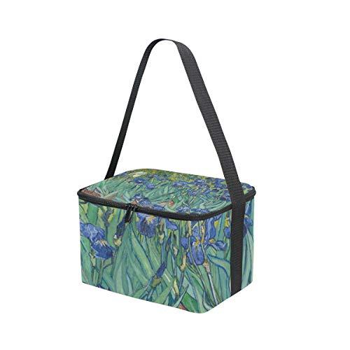 correa fiambrera picnic jardín almuerzo Bolsa para de hombro de de pintura para OZ81Rwxq