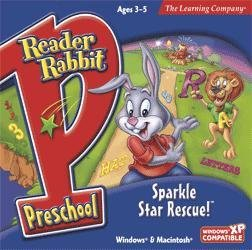 Reader Rabbit Preschool Sparkle Star Rescue (Reader Rescue)