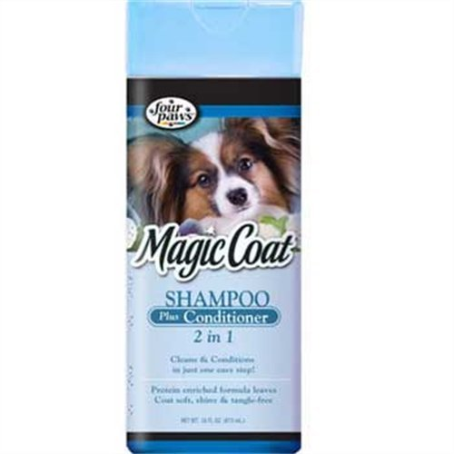 Magic Coat 2-In-1 Shampoo and Conditioner, 16-Ounce, My Pet Supplies