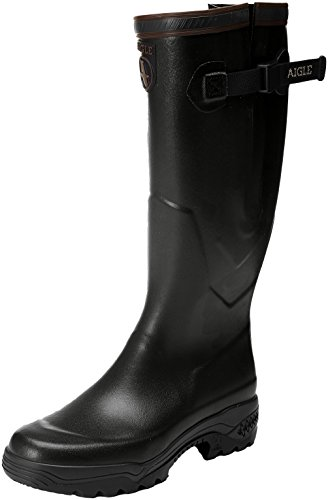 Adults Boots Aigle Vario 2 Work Black Parcours Wellingtons Unisex wrwC05qxH