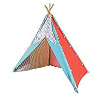 Pacific Play Tents Interchangeable Multi-Panel Poly Cotton Canvas Teepee