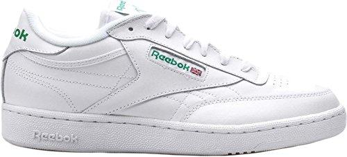 reebok-mens-club-c-85-fashion-sneaker-int-white-green-10-m-us