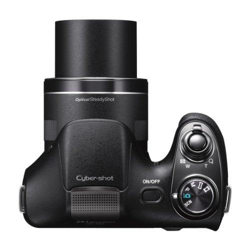 Sony DSCH300/B Digital Camera (Black)