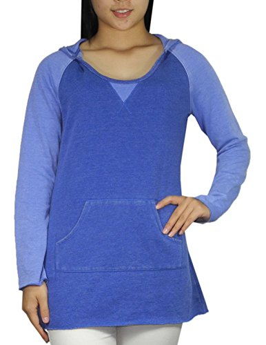 Calvin Klein Performance Womens Pullover Hoodie / Sweatshirt M Blue