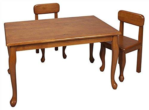 Queen Anne Rectangular Leg Table - 4