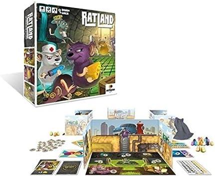 Eclipse Editorial- Ratland, Multicolor (BGRATLAND): Amazon.es: Juguetes y juegos