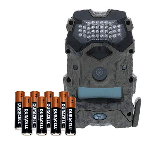 Wildgame Innovations Mirage 16 16MP Water-Resistant Hunting Game Trail Camera & Batteries – HD Photos and 720p Video Recording
