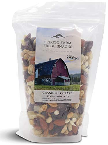 (Oregon Farm Fresh Snacks - Cranberry Craze - Cranberry and Nut Mix (20 oz))