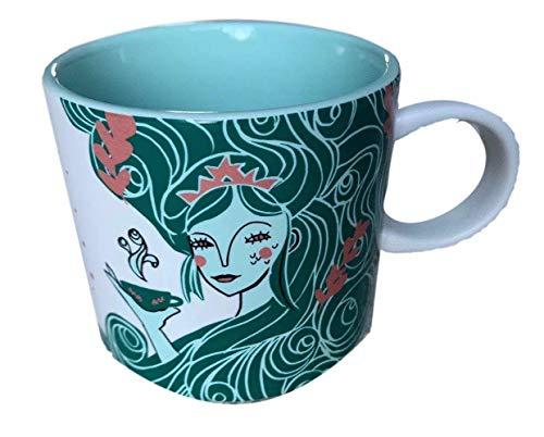 Starbucks 2018 Holiday Collection 12oz Mint Green Mermaid Mug