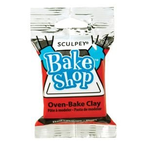 12 PACK BAKE SHOP CLAY RED 2oz Drafting, Engineering, Art (General Catalog)