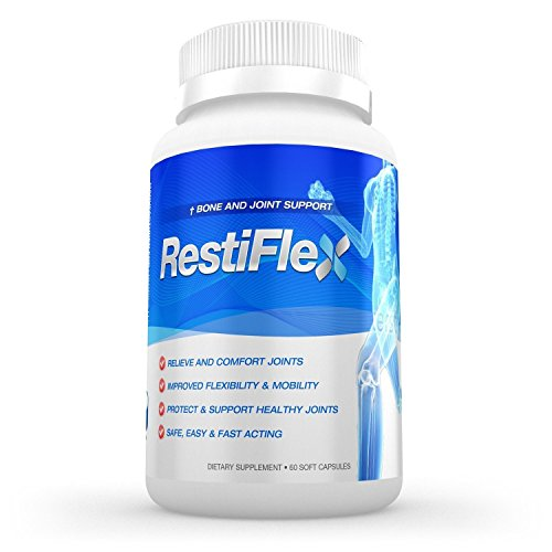 RESTIFLEX - NEM (Natural Egg Shell Membrane) 500mg - Containing Glucosamine Chondroitin and Collagen - Restiflex Also Contains a 400mg Blend of Methylsulfonylmethane (MSM) White Willlow Bark Ginger Boswella Serrata and Tumeric Root - Restiflex ...