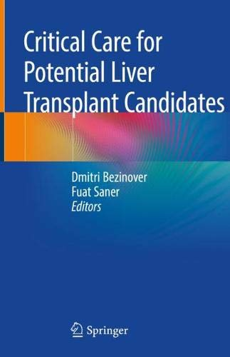 Critical Care for Potential Liver Transplant Candidates