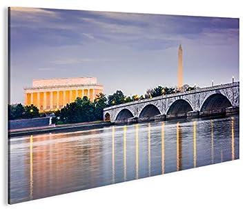 Quadro moderno Washington DC Impresión sobre lienzo - Quadro ...