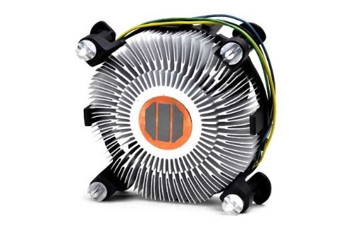 PartsCollection Intel Core i7-4770K Processor's Cooling Fan with Heatsink (Best Cooler For I7 4770k)