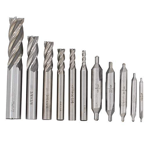 Cortador de fresa de extremo de 3 flautas Broca CNC Herramientas industriales extendidas Broca de CNC HSS de 3 flautas y cortador de fresado de extremo de acero de alta velocidad adicional de aluminio