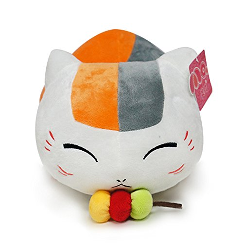 Rain's Pan Anime Nyanko Sensei Yuujinchou Cat with Gourd Stuffed Plush Toys Dolls Pillows 18