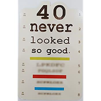 Amazon best happy 40th birthday milestone greeting card with 40 never looked so good getting older age funny humor happy 40th birthday greeting bookmarktalkfo Choice Image