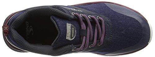 ONeill Damen Zephyr Lt W SL Sneakers Blue (Denim Melee)
