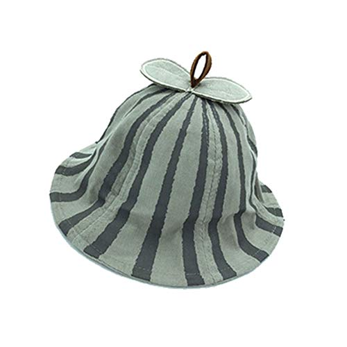 Wansan Bucket Hat UPF 50+Sun Protection Corduroy Watermelon Pattern Sunbonnet for Baby 6-20 -