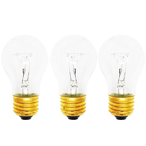 3 Pack Replacement Light Bulb For Kenmore   Sears 10658524700   Compatible Kenmore   Sears 8009 Light Bulb