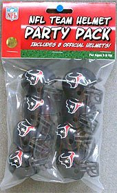 Riddell Houston Texans Team Helmet Party Pack