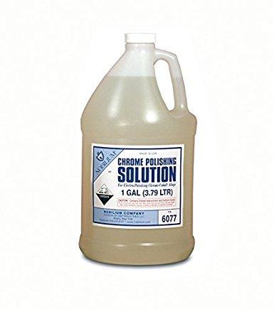 CHROME POLISHING SOLUTION FOR CO-CR 1 GALLON (3.79 LITERS) HYDROCHLORIC ACID BASE