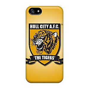 Scratch Resistant Hard Cell-phone Case For Apple Iphone 5/5s (mdx28916iduH) Custom Colorful Hull City Afc Skin