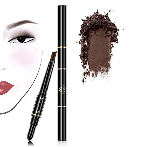 Waterproof Eyebrow Pencil, 3 Colors, Air Cushion, Triad, Natural Long-Lasting Eyebrow Color (Coffee)