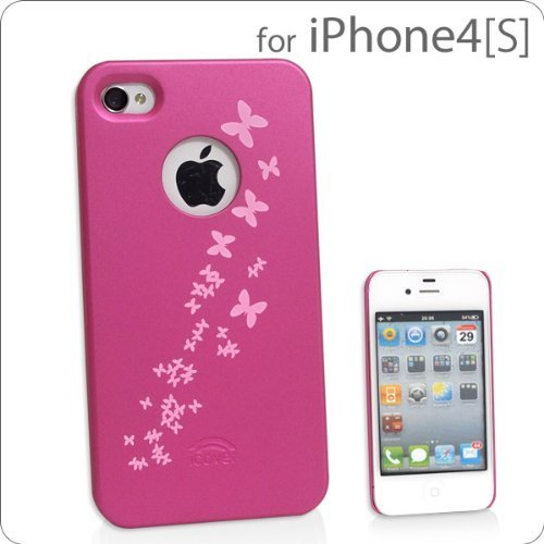 icover iPhone 4S/4 Hard Cover (Pink)