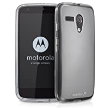 Fosmon® Motorola Moto G (DURA-FRO Series) Flexible TPU Case Cover - Fosmon Retail Packaging (Clear)