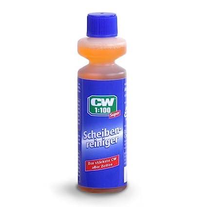 Dr. Wack CW 1749 - Líquido limpiacristales para limpiaparabrisas (diluible 1:100, 40 ml)