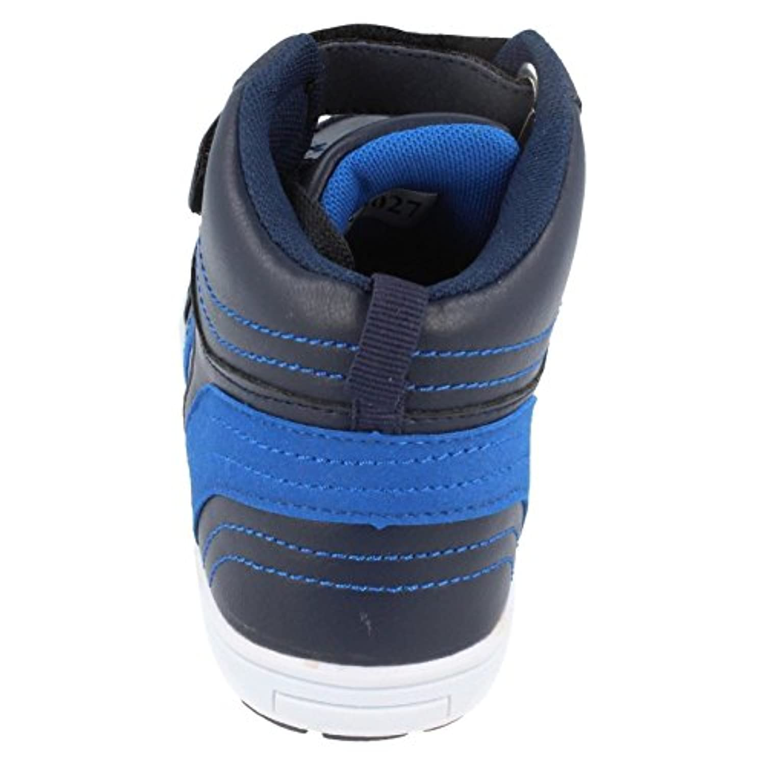 Boys JCDees Hi Top Trainers N2027 Navy Size 1 UK