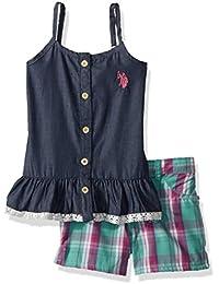 Girls' Fashion Top and Short Set