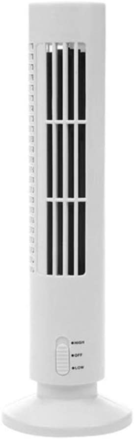 Office Shengjuanfeng USB Fans Mini USB Vertical Bladeless Fan Handheld Portable Cooler Desktop Silent Cooling Tower Fan Home Office for Home Color : Black Outdoor Travel