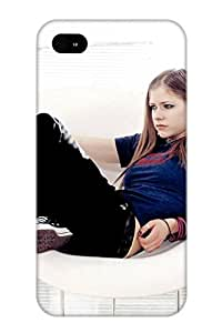 New Arrival Case Cover Ojrqqd-4000-kpwxktg With Design For Iphone 4/4s- Avril Lavinge Hot Best Gift Choice For Lovers