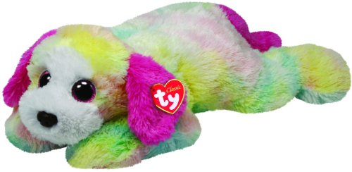 Ty Classic Yodels Rainbow Dog Large Plush