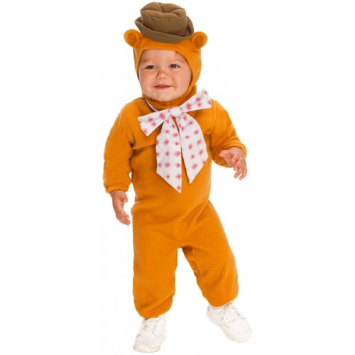 The Muppets Romper Costume, Fozzie Bear, Toddler -