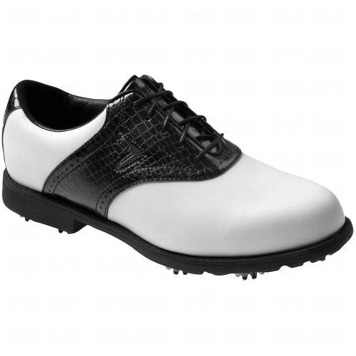 Callaway Lady FT Chev Tour Golf Shoes White - Black 6.5 Medium