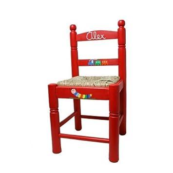 CAL FUSTER Chaise Enfant Avec Ton Prnom