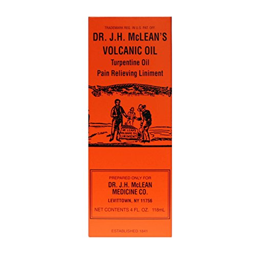 - Dr. J.H. McLean's Volcanic Oil - 2 Fluid Ounces