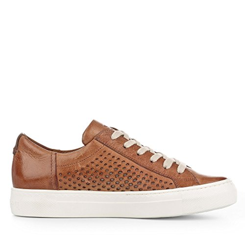 Paul Green Perforation Damen 4595 aus Laufsohle Sneaker Glattleder 042 Modische rrBdxw