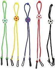 IMIKEYA 5pcs Mask Glasses Lanyard Straps Around Neck Adjustable Length Mask Lanyard Glasses Hanging Ropes
