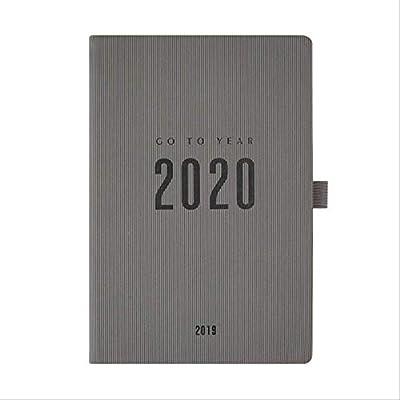 YNIME Cuaderno Notebook Planer 2020 2019 Agenda A5 Diario ...