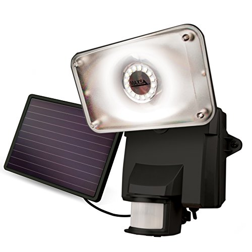 Maxsa Black Solar Powered Flood Light in US - 6