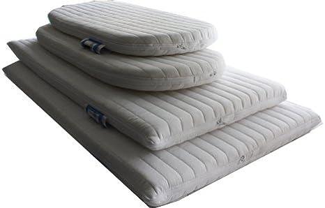 Nightynite/™ Ambassador Anti-allergenic Microfibre Crib Mattress 84 x43x 4 CM Square corners