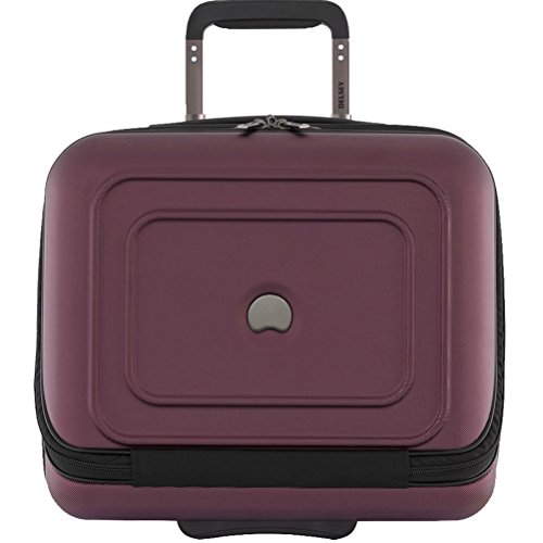 delsey-luggage-cruise-lite-hardside-2-wheel-underseater-w-front-pocket-black-cherry